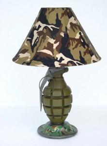 Светильник в стиле милитари