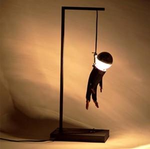 Черный юмор - светильник