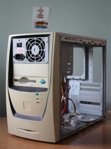 Переделка корпуса компьютера