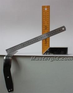 Измерение угла заточки. Способ - 2